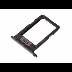 Tiroir SIM pour Samsung SM-A600 Galaxy A6 (2018) - Noir photo 0