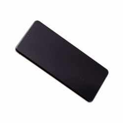 Bloc Ecran Amoled et vitre prémontés sur châssis Samsung SM-G988 Galaxy S20 Ultra - Argent photo 0