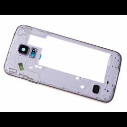 Châssis intermédiaire pour Samsung SM-G903F Galaxy S5 Neo - Argent photo 0