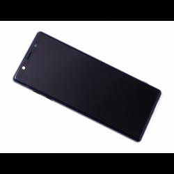 Bloc écran avec châssis Sony J8210 Xperia 5, J9210 Xperia 5 Dual SIM - Bleu photo 0