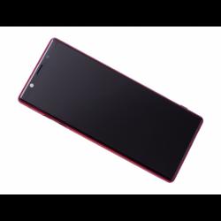 Bloc écran avec châssis Sony J8210 Xperia 5, J9210 Xperia 5 Dual SIM - Rouge photo 0