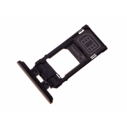Tiroir SIM pour Sony J8210, J8270 Xperia 5 - Noir photo 0
