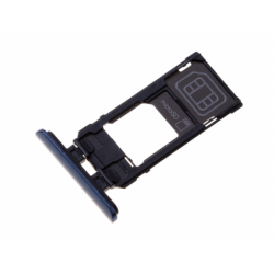 Tiroir SIM pour Sony J8210 Xperia 5 - Bleu photo 0