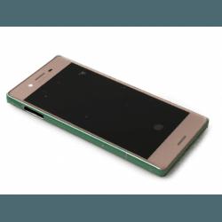Bloc écran avec châssis Sony F5121 Xperia X, F5122 Xperia X Dual - Rose photo 0