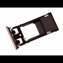 Tiroir SIM et carte SD pour Sony F5122 Xperia X Dual - Rose photo 1