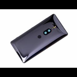 Coque arrière pour Sony H8116 Xperia XZ2 Premium, H8166 Xperia XZ2 Premium Dual SIM - Noir photo 0