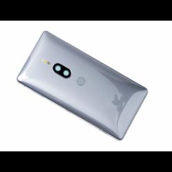 Coque arrière pour Sony H8116 Xperia XZ2 Premium, H8166 Xperia XZ2 Premium Dual SIM - Argent photo 0