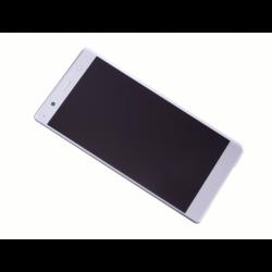 Ecran Noir avec Vitre et LCD prémontés pour Sony Xperia XZ2 Premium - Argent photo 0