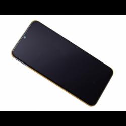 Bloc écran avec châssis Xiaomi Mi A3 - Argent photo 0