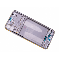 Bloc écran avec châssis Xiaomi Mi A3 - Argent photo 1