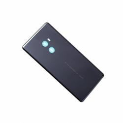 Vitre arrière avec logo pour Xiaomi Mi Mix 2 - Noir photo 0