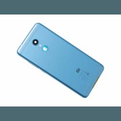 Vitre arrière avec logo pour Xiaomi Redmi 5 - Bleu photo 0