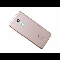 Vitre arrière avec logo pour Xiaomi Redmi 5 - Or photo 0