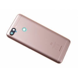 Vitre arrière avec logo pour Xiaomi Redmi 6 - Or photo 0