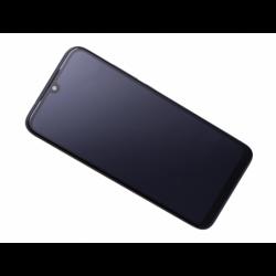 Bloc écran avec châssis Xiaomi Redmi 7 - Noir photo 0