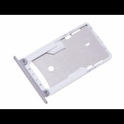 Tiroir SIM pour Xiaomi Redmi Note 4 - Argent photo 0