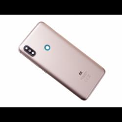 Vitre arrière avec logo pour Xiaomi Redmi S2 - Or photo 0
