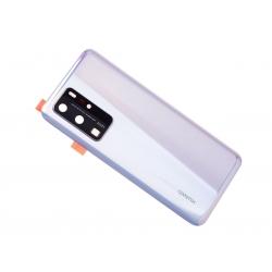 Vitre arrière pour Huawei P40 Pro Blanc photo 3