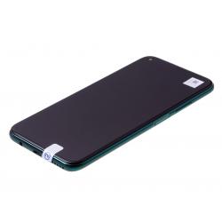 Bloc écran IPS LCD complet pré-monté sur châssis + batterie pour Huawei P40 Lite Vert photo 1