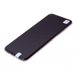 Bloc écran IPS LCD complet pré-monté sur châssis + batterie pour Huawei P40 Lite Rose photo 1
