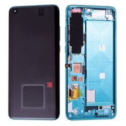 Bloc écran Super Amoled et vitre pré-montés sur châssis pour Xiaomi Mi 10 Vert photo 2