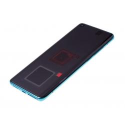 Bloc écran Super Amoled et vitre pré-montés sur châssis pour Xiaomi Mi 10 Vert photo 1