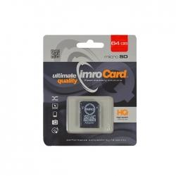 Carte mémoire microSDHC Classe 10 en 64 Go