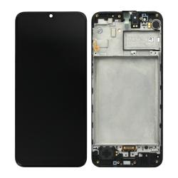 Bloc écran Super Amoled pré-monté sur châssis pour Samsung Galaxy M31 tous coloris