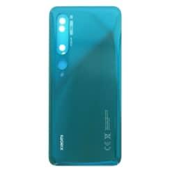 Vitre arrière pour Xiaomi Mi Note 10 et Mi Note 10 Pro Vert Boréal