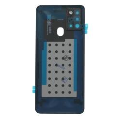 Vitre arrière pour Samsung Galaxy A21s Bleu Prismatique photo 1