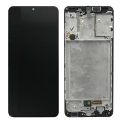 Bloc écran Super Amoled pré-monté sur châssis pour Samsung Galaxy A31
