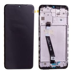 Bloc écran IPS LCD et vitre pré-montés sur châssis pour Xiaomi Redmi 9