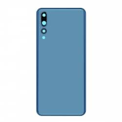 Vitre Arrière Compatible pour Huawei P20 Pro Bleu photo 2