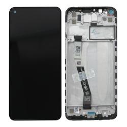 Bloc écran IPS LCD et vitre pré-montés sur châssis pour Xiaomi Redmi Note 9