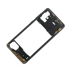 Châssis Intermédiaire pour Samsung Galaxy A71 Noir Prismatique