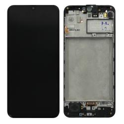 Bloc écran Super Amoled pré-monté sur châssis pour Samsung Galaxy M21 tous coloris