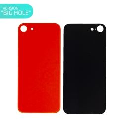 Vitre arrière Rouge (PRODUCT)RED™ pour iPhone 8 - Version BIG HOLE