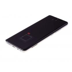 Bloc écran Amoled et vitre pré-montés sur châssis pour Xiaomi Mi Note 10 Pro Blanc photo 1