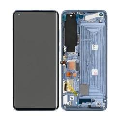 Bloc écran Super Amoled et vitre pré-montés sur châssis pour Xiaomi Mi 10 Gris Crépusculaire