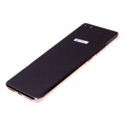 Bloc écran OLED complet pré-monté sur châssis + batterie pour Huawei P40 Pro Or photo 1