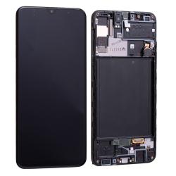 Bloc écran Super AMOLED pré-monté sur châssis pour Samsung Galaxy A30s photo 2