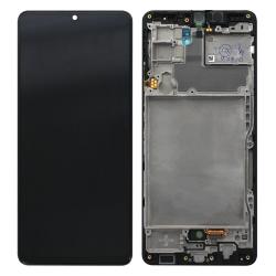 Bloc écran Super AMOLED pré-monté sur châssis pour Samsung Galaxy A42 (5G)