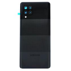 Vitre arrière pour Samsung Galaxy A42 Noir photo 2