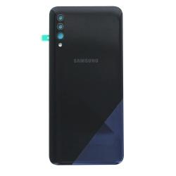 Vitre arrière pour Samsung Galaxy A30s Noir