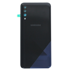 Vitre arrière pour Samsung Galaxy A30s Noir photo 2