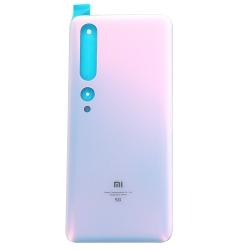 Vitre arrière pour Xiaomi Mi 10 Pro Blanc Alpin photo 2