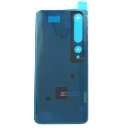 Vitre arrière pour Xiaomi Mi 10 Pro Blanc Alpin photo 1