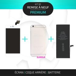 Kit de remise à neuf pour iPhone 6 Plus Argent | PREMIUM