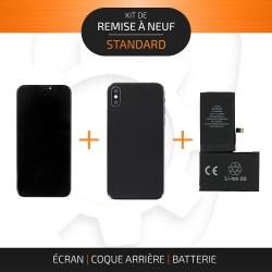 Kit de remise à neuf pour iPhone X Noir | STANDARD