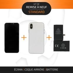 Kit de remise à neuf pour iPhone X Argent| STANDARD